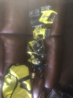 Ryobi power tools. for Sale in Wall Township, NJ