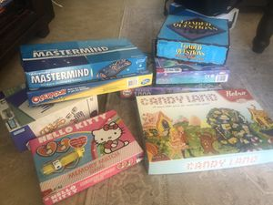 Board games and puzzle for Sale in San Diego, CA