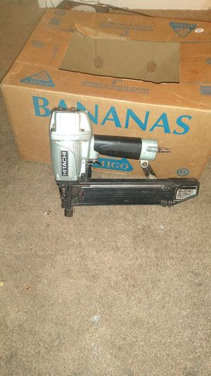Hitachi 7\16 wide crown stapler for Sale in Belleview, FL
