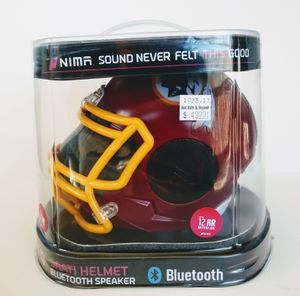 Nima Rechargable Redskins Helmet Bluetooth Speaker for Sale in Powhatan, VA