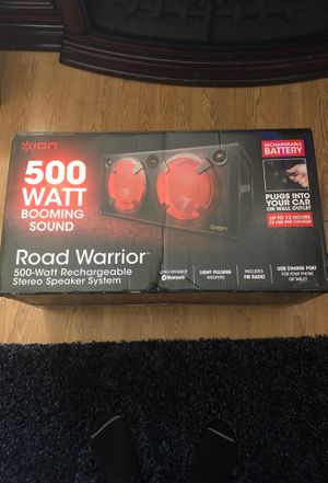 ION Road warrior 500-watt rechargeable stereo speaker system for Sale in Los Angeles, CA