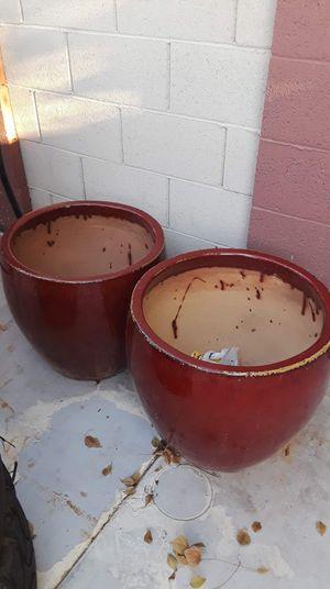Ceramic plant pots for Sale in Phoenix, AZ