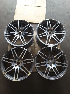 """20"""" X 9"""" Audi A8 S8 A7 S7 OEM Wheel Rim 58813 Polished Aluminum & Charcoal for Sale in Hempstead, NY"""