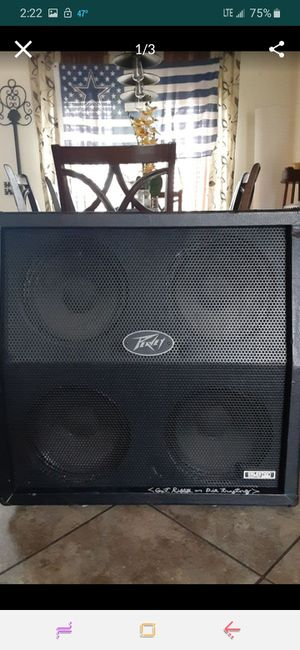 Crate 4×12 cab CELESTION EQUIPPED! for Sale in Victoria, TX