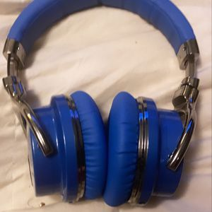 cowin E7 Bluetooth Noise Cancelling Wireless Over-Ear Headphones With Mic and Volume Control, Blue for Sale in Lanham, MD