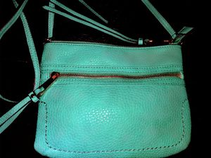 Mint Turquoise Genuine leather Aldo Bag . New with tags for Sale in Tampa, FL