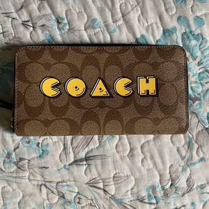Coach Pac-Man Wallet for Sale in Fontana, CA