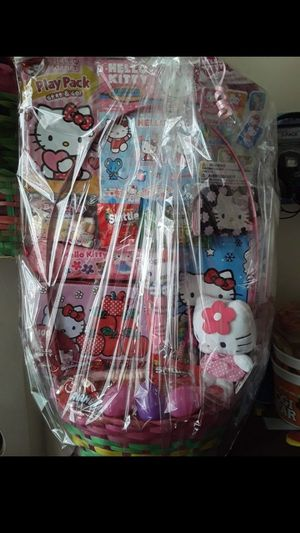 HELLO KITTY EASTER BASKET $30!!! for Sale in Bell Gardens, CA