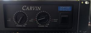 Carvin DCM 1000 power amp for Sale in Colton, CA