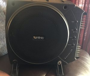 Infinity BassLink Subwoofer/Amp for Sale in Seattle, WA