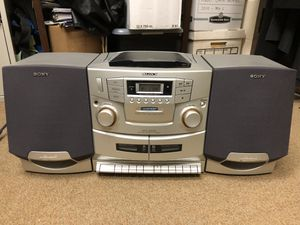 Sony boombox CFD-ZW755 for Sale in Fairfax Station, VA