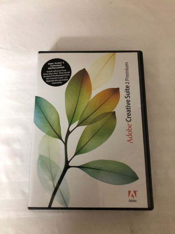 Adobe Creative Suite 2 Premium software