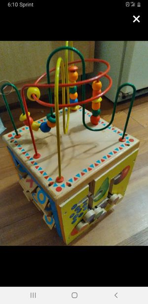 Toddler baby kids play toy block for Sale in Wheat Ridge, CO
