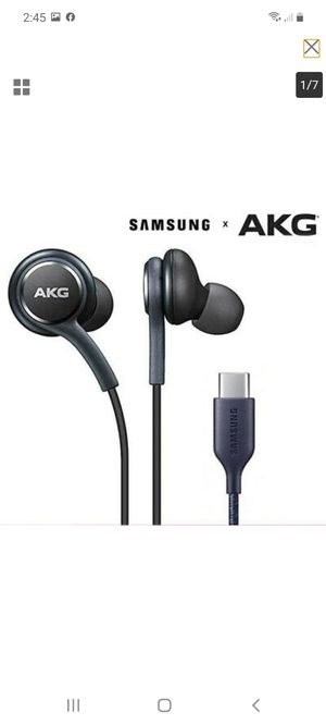 Samsung AKG note 20 headphones NEW for Sale in Round Rock, TX
