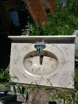 Marble bathroom sink for Sale in Lebanon, IN