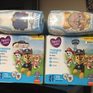 Pampers Size 4t &5t For All 210 Pampers for Sale in South Gate, CA