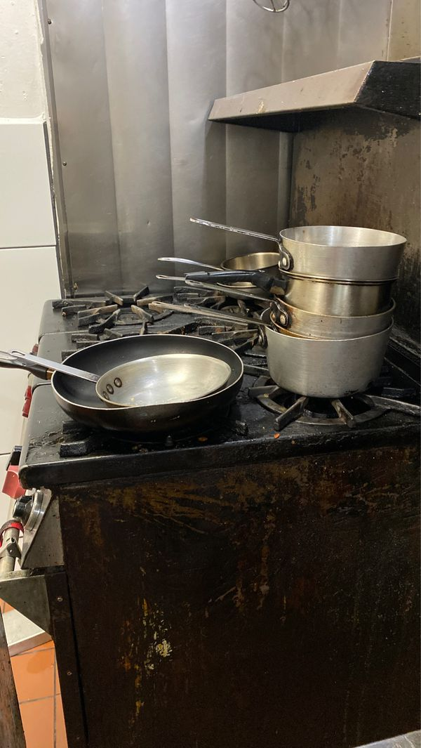 Wolf commercial stove