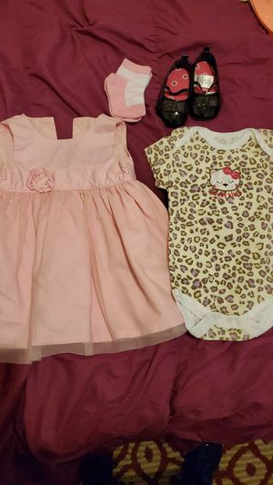 Baby girl outfit, size 0-3 months for Sale in Washington, DC