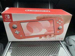 Nintendo Switch Lite Coral for Sale in Rowland Heights, CA