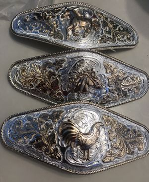 Cowboy buckles for Sale in Modesto, CA