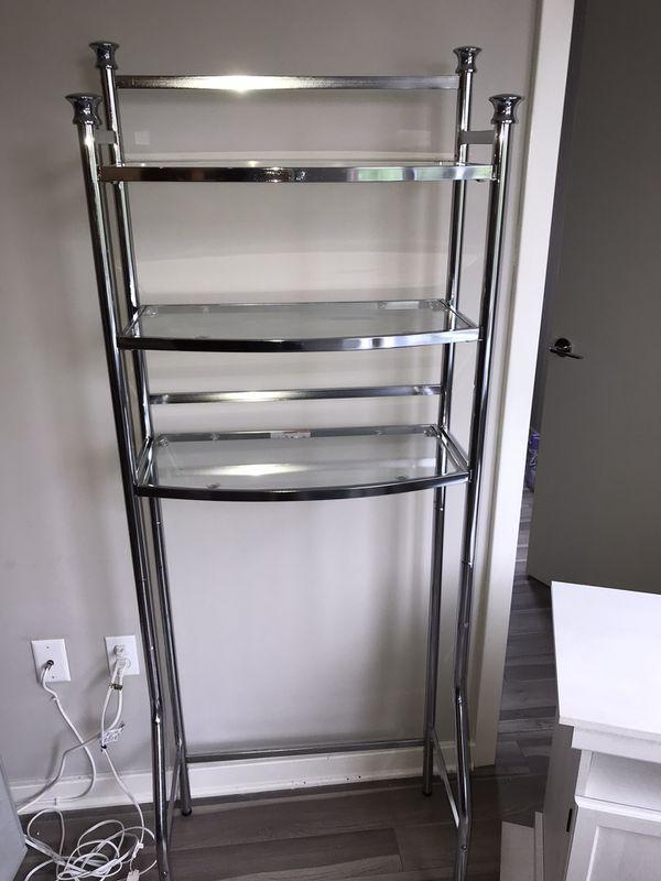 Glass Shelf Tower