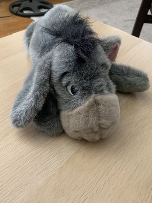 Eeyore Fuzzy Plush Animal for Sale in Alhambra, CA