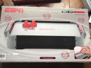 BRAND NEW ESPN Table Top Air Hockey for Sale in Tampa, FL