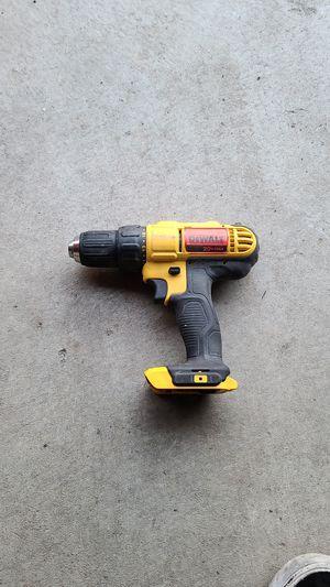Dewalt drill 20 vmax for Sale in Tacoma, WA