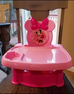 Disney Minnie Mouse Booster Seat for Table for Sale in Riverton, CT