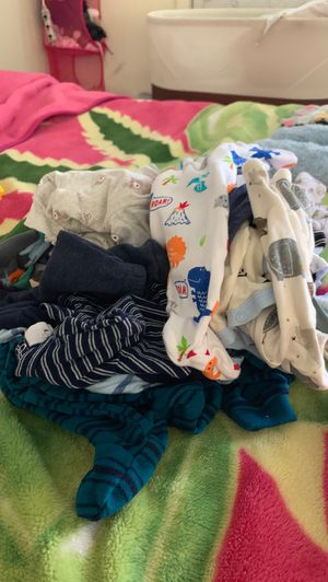 Baby boy premie clothes for Sale in Oakland, CA