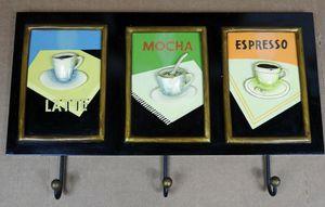 COFFEE Coat Rack Kitchen Sign Decor Cappuccino Mocha Cafe Shop Bistro Espresso for Sale in Temecula, CA