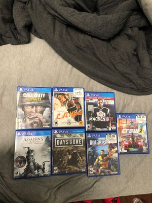 PS4 games no longer playing for Sale in Eunice, LA