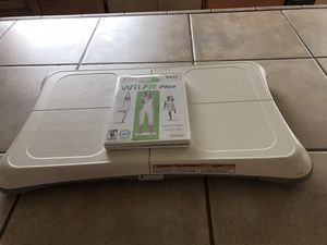 Wii Fit with DVD for Sale in Lynnwood, WA