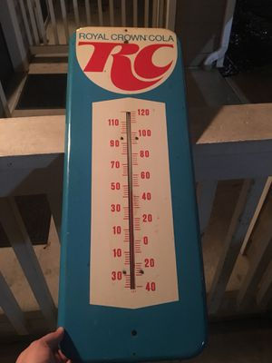 RC Cola Thermometer for Sale in Huntington Beach, CA