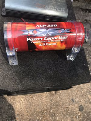 Xcp-350 Power capacitor car Music 🎶 for Sale in The Bronx, NY