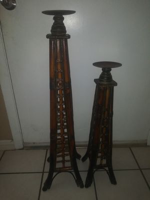 Two antique candle holder. for Sale in Farmers Branch, TX