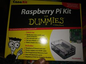 Raspberry pie kit for dummies. for Sale in Eugene, OR