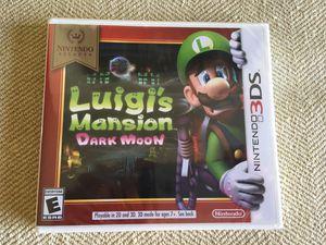 Luigi's Mansion Dark Moon(3ds/Brand New) for Sale in Houston, TX
