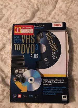 VHS to DVD or USB software EASY to use NEW for Sale in Bothell, WA