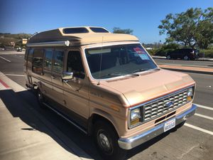 Ford Econoline camper van motorhome rv campervan conversion for Sale in San Clemente, CA