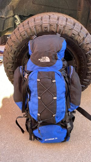 North Face Extreme 70L hiking Backpack. EUC for Sale in Arlington, TX