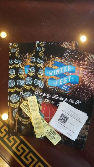 Winter wonderland tickets in coast to Mesa for Sale in US