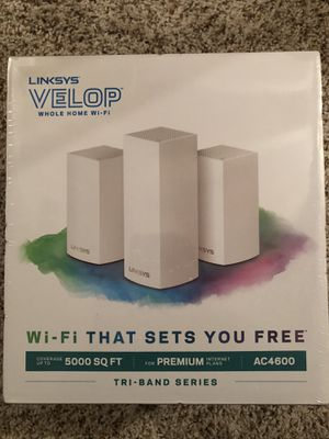 Linksys Velop Triband AC4600 Intelligent Mesh WiFi Router***PRICE IS FIRM*** for Sale in Canton, MI