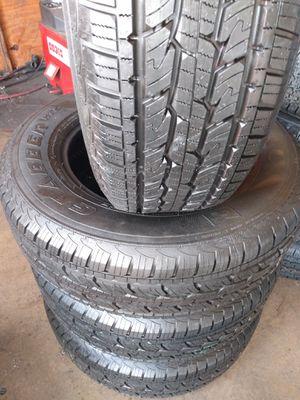Set of 4 tires =245/70/17-General Grabber 95% of life for Sale in Fullerton, CA