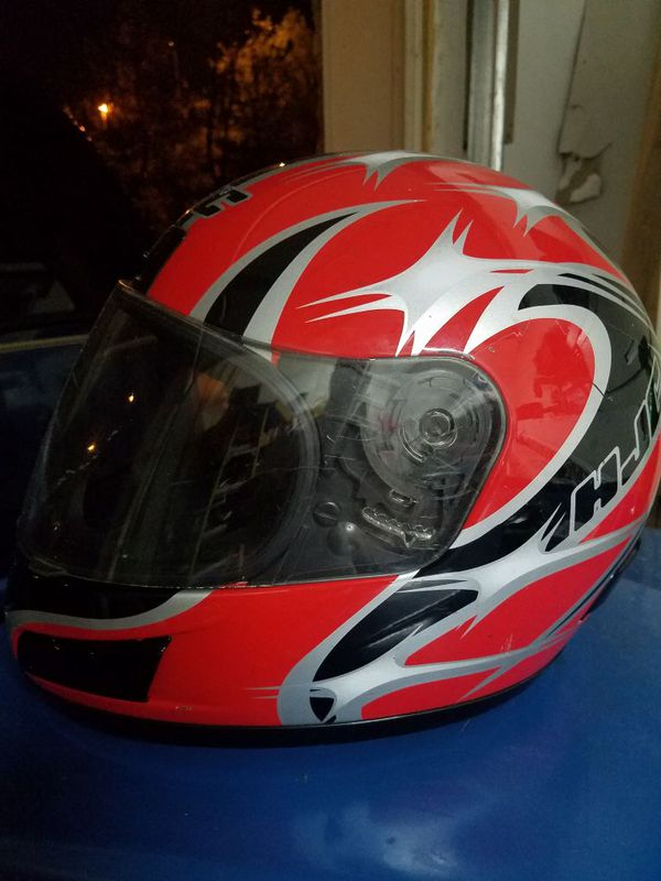 HJC Helmets Motorcycle Red