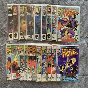 Almost Full Run of New Mutants Comics for Sale in Colorado Springs, CO