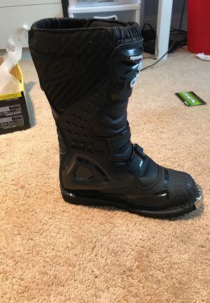 Dirt bike boots for Sale in Arlington, VA