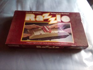 Razzle Board Game for Sale in Vallejo, CA