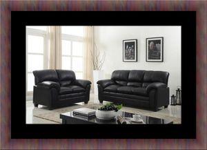 Black sofa and loveseat for Sale in Fairfax, VA