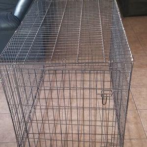 XL Dog Crate, Used- 48L, 30W, 32H for Sale in San Bernardino, CA